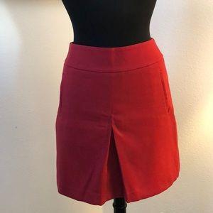 NWT Stunning Red Ann Taylor Loft Skirt